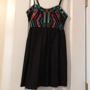 Urban Outfitters embroidered mini dress